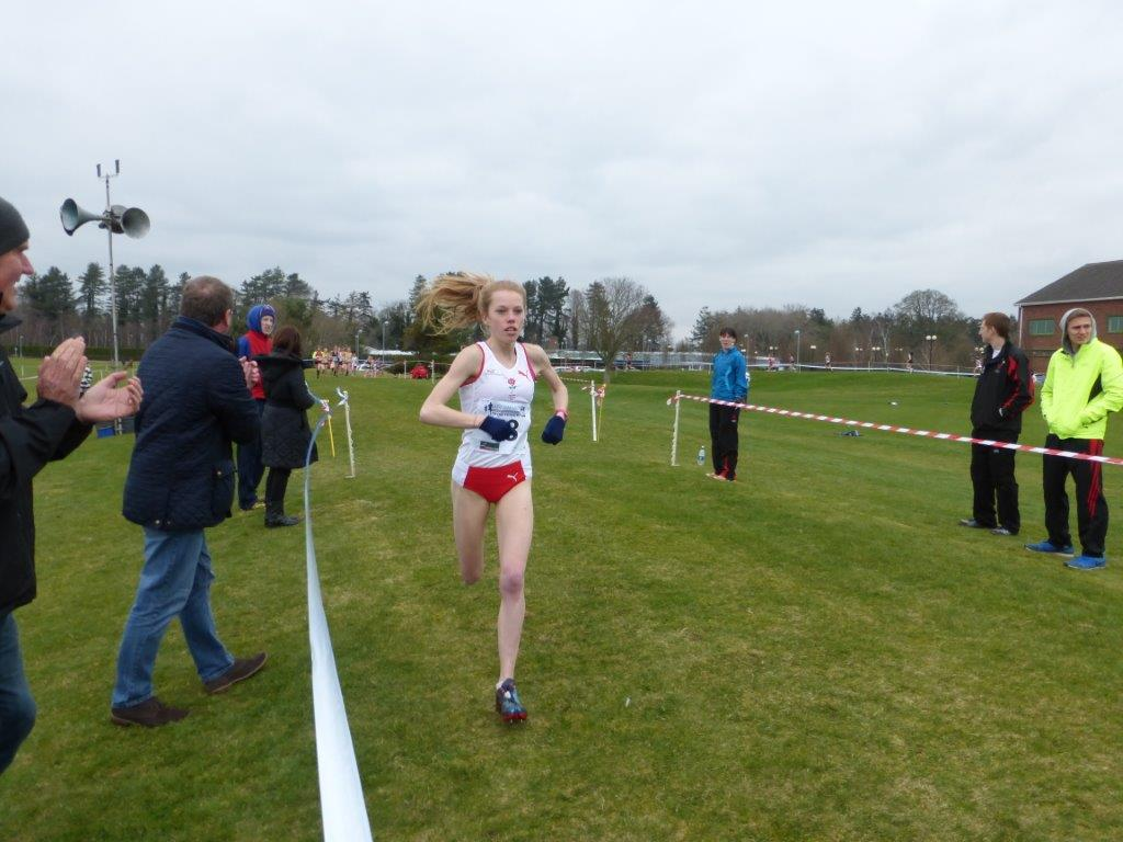 Jenny storms to second in the Home Counties International XC