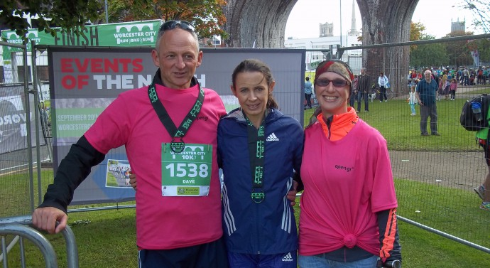 With Jo Pavey #1